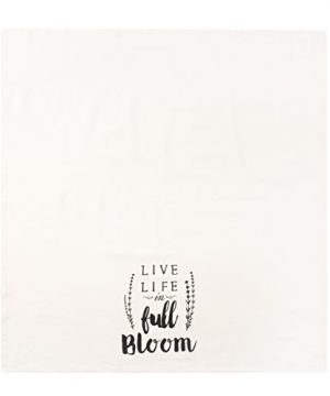 Sticky Toffee Cotton Flour Sack Kitchen Towels Live Life Stripe And Flower Prints 3 Pack 28 In X 29 In 0 2 300x360