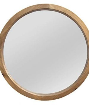 Stratton Home Decor Maddie Wood Mirror 0 300x360