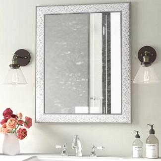 W Encanto Modern & Contemporary Beveled Bathroom
