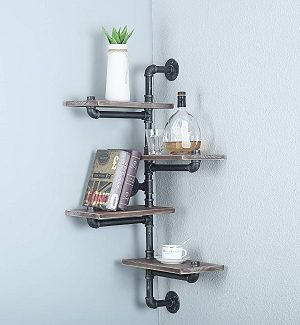 Farmhouse Corner Shelves