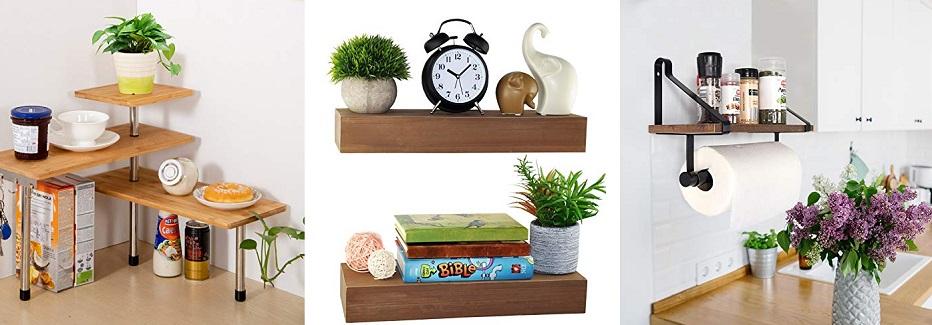 farmhouse kitchen shelf