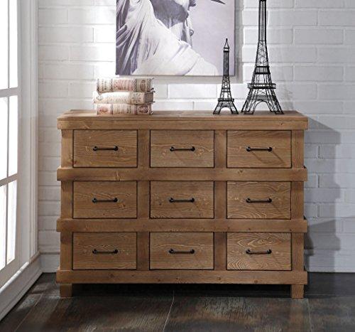 ACME Adams Antique Oak Dresser 0 0