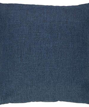 Amazon Brand Stone Beam Casual Global Throw Pillow 20 X 20 Inch Dark Denim 0 0 300x360