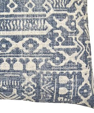 Amazon Brand Stone Beam Casual Global Throw Pillow 20 X 20 Inch Dark Denim 0 1 300x360