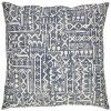 Amazon Brand Stone Beam Casual Global Throw Pillow 20 X 20 Inch Dark Denim 0 100x100