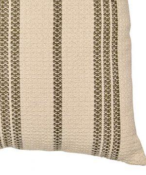 Amazon Brand Stone Beam Modern Striped Throw Pillow 18 X 18 Inch Olive Multi 0 1 300x360