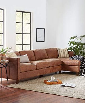Amazon Brand Stone Beam Modern Striped Throw Pillow 18 X 18 Inch Olive Multi 0 4 300x360