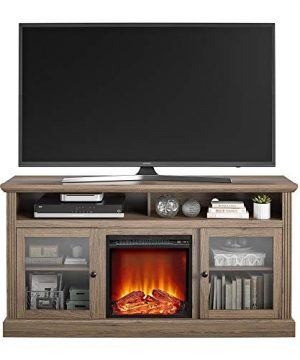 Ameriwood Home Chicago Fireplace 65 Rustic Oak TV Stand 0 1 300x360