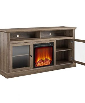 Ameriwood Home Chicago Fireplace 65 Rustic Oak TV Stand 0 2 300x360