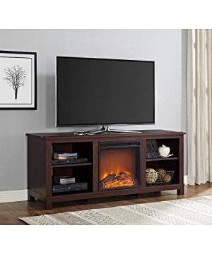 Ameriwood Home Edgewood TV Console With Fireplace For TVs Up To 60 Espresso 0 300x360