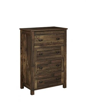 Ameriwood Home Farmington 4 4 Drawer Dresser Rustic 0 300x360