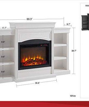 Ameriwood Home Lamont Mantel Fireplace Black 0 1 300x360