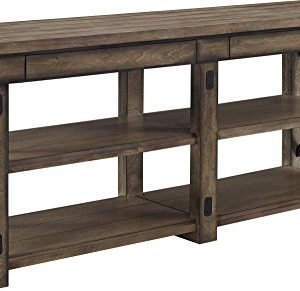 Ameriwood Home Wildwood Wood Veneer TV Stand For TVs Up To 65 Wide Rustic Gray 0 300x291