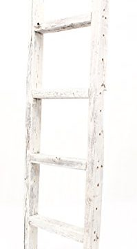 BarnwoodUSA Rustic Farmhouse Decorative Ladder Our 4ft 2x3 Ladder Can Be Mounted Horizontally Or Vertically Crafted From 100 Recycled And Reclaimed Wood No Assembly Required White 0 199x360