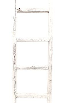 BarnwoodUSA Rustic Farmhouse Decorative Ladder Our 4ft 2x3 Ladder Can Be Mounted Horizontally Or Vertically Crafted From 100 Recycled And Reclaimed Wood No Assembly Required White 0 3 224x360