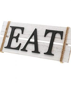 Barnyard Designs Eat Wood Wall Art Sign Rustic Primitive Farmhouse Country Kitchen And Home Wall Decor 17 X 7 0 2 300x360
