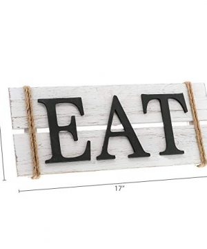 Barnyard Designs Eat Wood Wall Art Sign Rustic Primitive Farmhouse Country Kitchen And Home Wall Decor 17 X 7 0 4 300x360