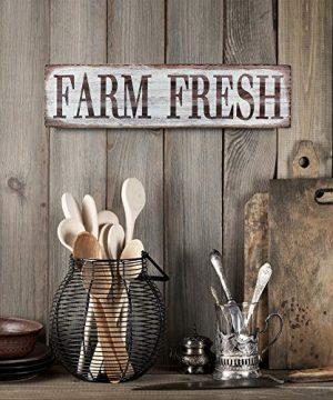 Barnyard Designs Farm Fresh Retro Vintage Tin Bar Sign Country Home Decor 1575 X 4 0 0 300x360