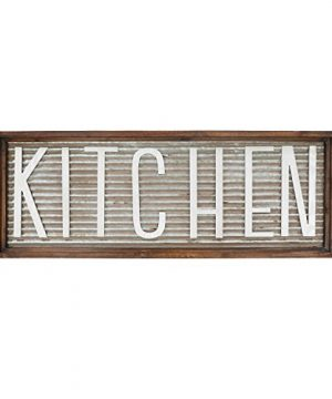 Barnyard Designs Kitchen Wall Decor Sign Rustic Vintage Farmhouse Country Decoration For Kitchen Wall Counter Door And Pantry 36 X 13 0 300x360