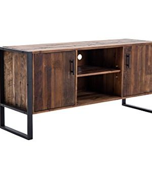 Belmont Home 60 Inch Natural Wood TV Stand 0 300x333