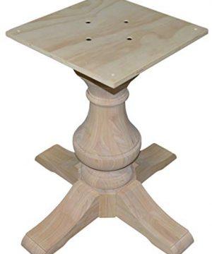 BingLTD 29 Tall Taylor Round Pedestal Table Base PD R2901 RW UNF 0 0 300x360