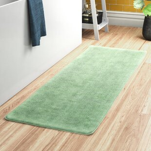 Bundinie+Hill+Rectangular+Polyester+Non-Slip+Solid+Bath+Rug