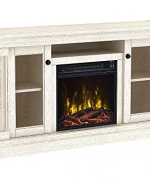 Classic Flame Foxmoor Electric Fireplace TV Stand White Oak 18MM7325 PO34S 0 0 300x360