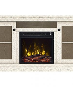 Classic Flame Foxmoor Electric Fireplace TV Stand White Oak 18MM7325 PO34S 0 3 300x360
