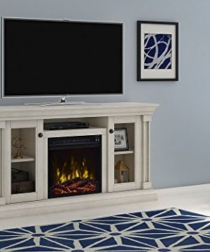 Classic Flame Foxmoor Electric Fireplace TV Stand White Oak 18MM7325 PO34S 0 300x360