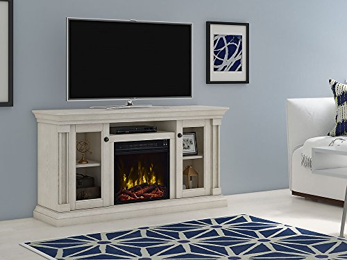 Classic Flame Foxmoor Electric Fireplace TV Stand White Oak 18MM7325 PO34S 0