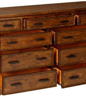 Coaster Home Furnishings Elk Grove 9 Drawer Dresser With Jewelry Tray Vintage Bourbon 0 1 300x360