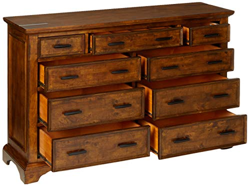 Coaster Home Furnishings Elk Grove 9 Drawer Dresser With Jewelry Tray Vintage Bourbon 0 1