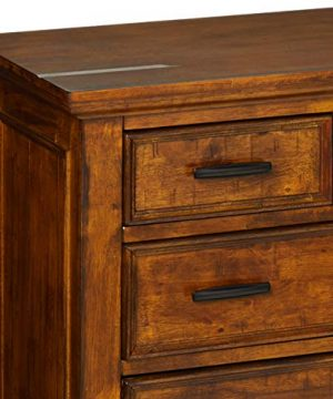 Coaster Home Furnishings Elk Grove 9 Drawer Dresser With Jewelry Tray Vintage Bourbon 0 2 300x360