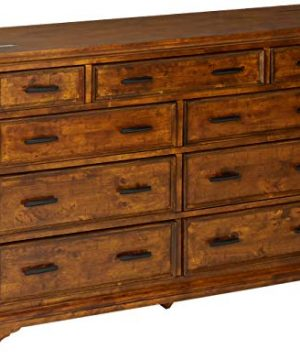 Coaster Home Furnishings Elk Grove 9 Drawer Dresser With Jewelry Tray Vintage Bourbon 0 300x360