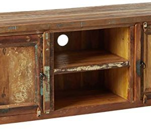Coaster Home Furnishings Handcrafted TV Console Reclaimed Wood 0 300x278