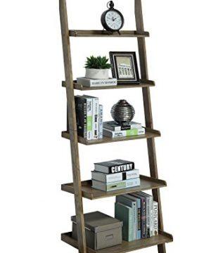 Convenience Concepts American Heritage Bookshelf Ladder Driftwood 0 300x360
