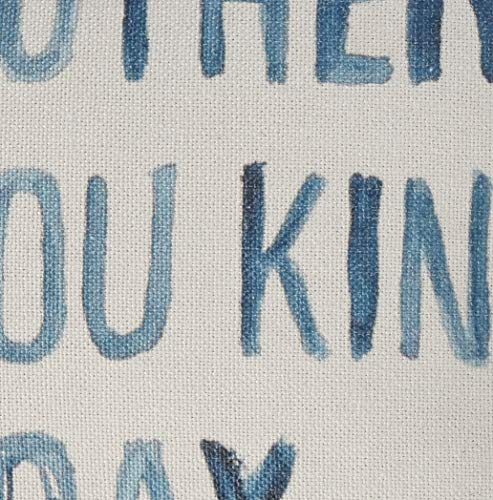 Creative Co Op Cotton Blend Pillow Its Another I Love You Kind Of Day Gray 0 2