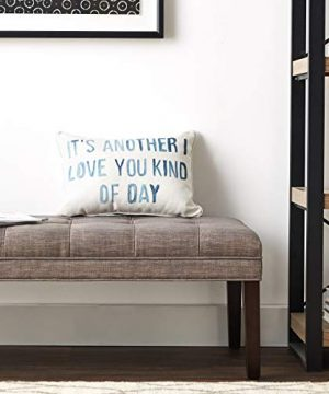 Creative Co Op Cotton Blend Pillow Its Another I Love You Kind Of Day Gray 0 3 300x360