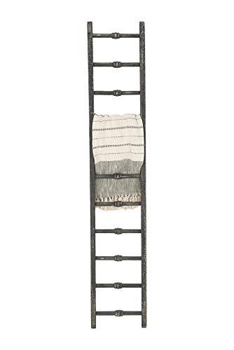 Creative Co Op Decorative Wood Ladder Misc Furniture Black 0 1