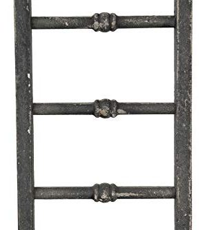 Creative Co Op Decorative Wood Ladder Misc Furniture Black 0 2 300x334