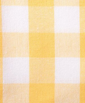 DII CAMZ36891 60x84 Rectangular Cotton Tablecloth Yellow White Check Perfect For Spring Summer Farmhouse Dcor Picnics Potlucks Or Everyday Use 0 300x360