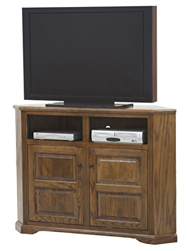 Eagle Oak Ridge Tall Corner TV Console 56 Wide Concord Cherry Finish 0