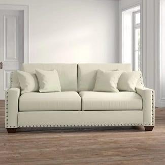 Elaine 87' Square Arm Sofa