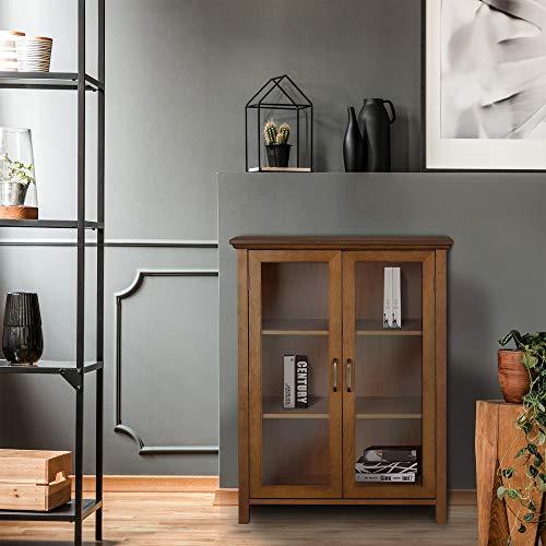 Elegant Home Fashion Anna Floor Cabinet With 2 Door 0 0