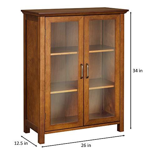 Elegant Home Fashion Anna Floor Cabinet With 2 Door 0