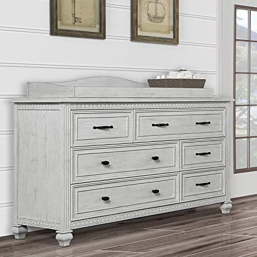 Evolur Madison Double Dresser Antique Grey Mist 0 3