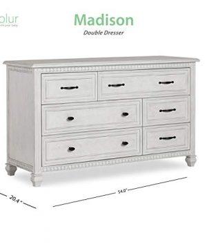 Evolur Madison Double Dresser Antique Grey Mist 0 4 300x360