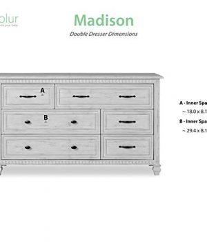 Evolur Madison Double Dresser Antique Grey Mist 0 5 300x360