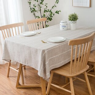 Furey+High-Quality+Rectangle+Cotton+and+Polyester+Tablecloth