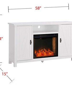 Furniture HotSpot Adderley Smart White Media Fireplace WStorage 0 4 300x360